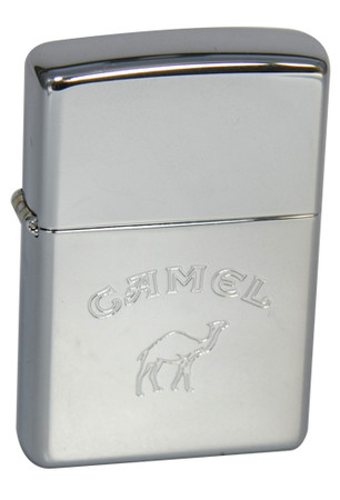 Zippo Camel Words Bottom Zippo Line Collection