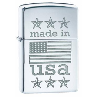Sturmfeuerzeug Made in USA Flag