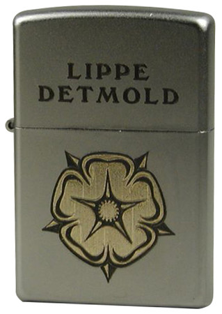 "Satin Chrome™ ""Lippe Detmold Lippische Rose, messing"""