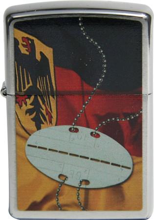 Sturmfeuerzeug Erkennungsmarke Flagge