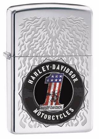 Sturmfeuerzeug Harley Davidson H.D. Motorcycles 1