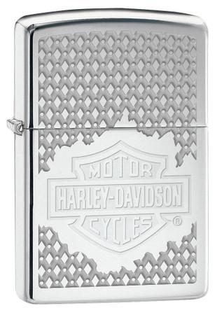 Sturmfeuerzeug Harley Davidson H.D. Gitter