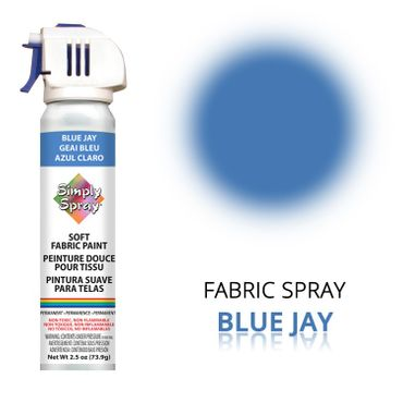 Fabric Paint Blue Jay – Bild 1