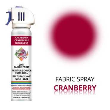 Fabric Paint Cranberry – Bild 1