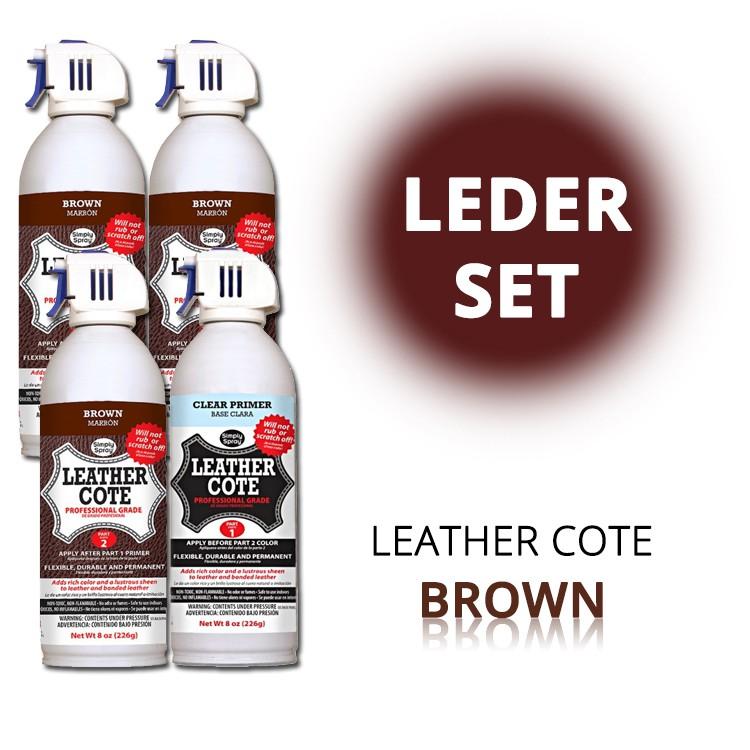 Leder-Spray Brown (Set) – Bild 1