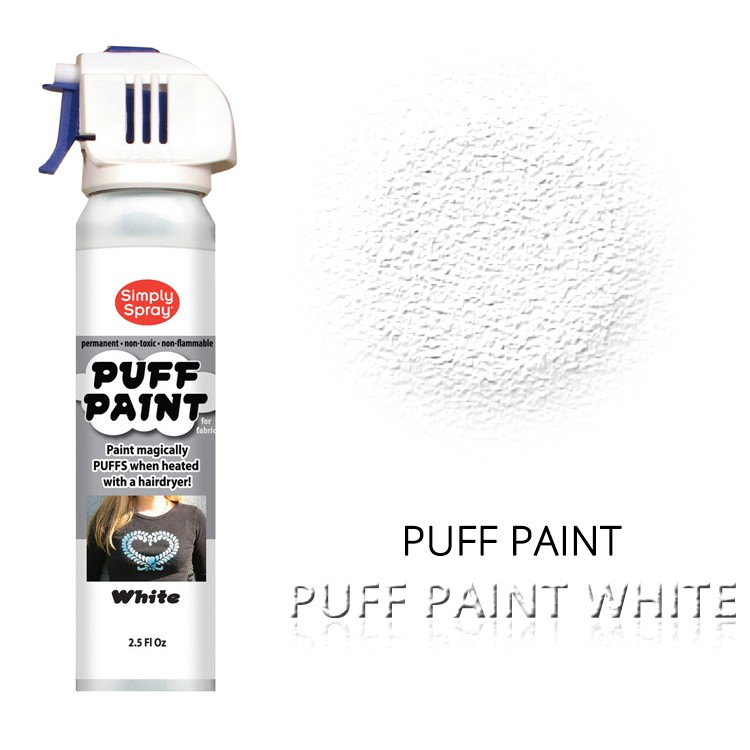 Puff Paint White – Bild 1