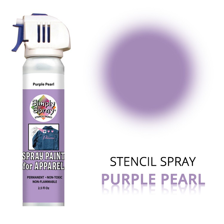 Stencil Spray Purple Pearl – Bild 1