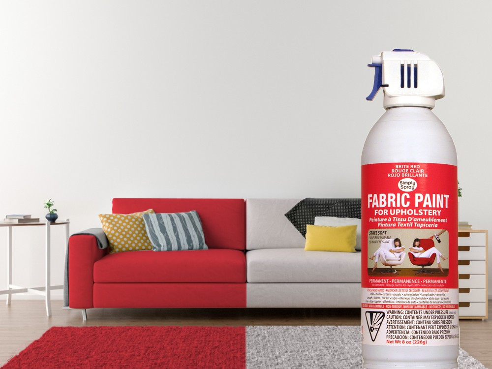 Upholstery Spray Bright Red – Bild 2