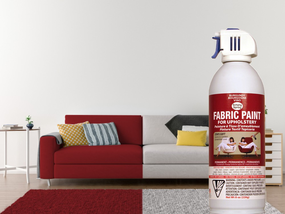 Upholstery Spray Burgundy (Multipack) – Bild 2