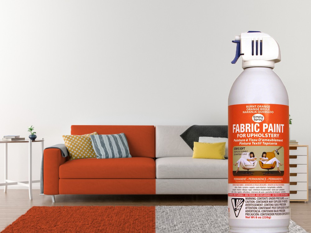Upholstery Spray Burnt Orange – Bild 2