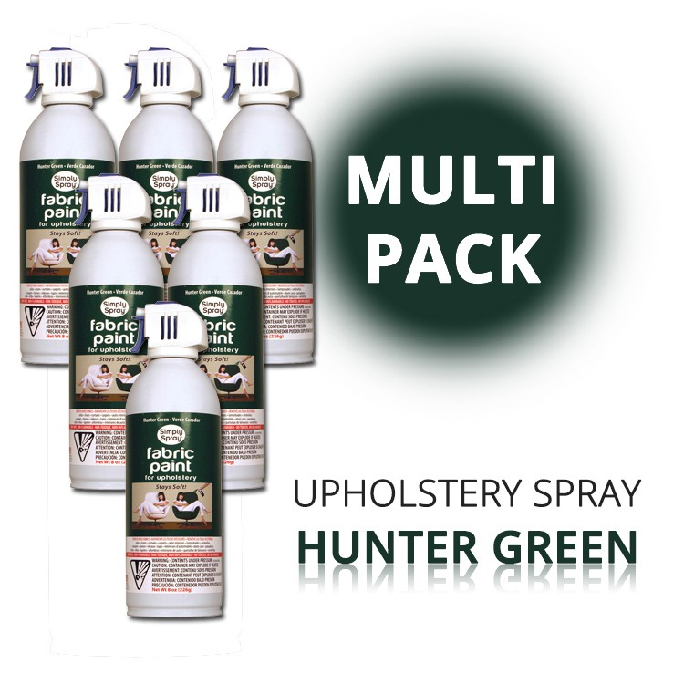 Upholstery Spray Hunter Green (Multipack) – Bild 1