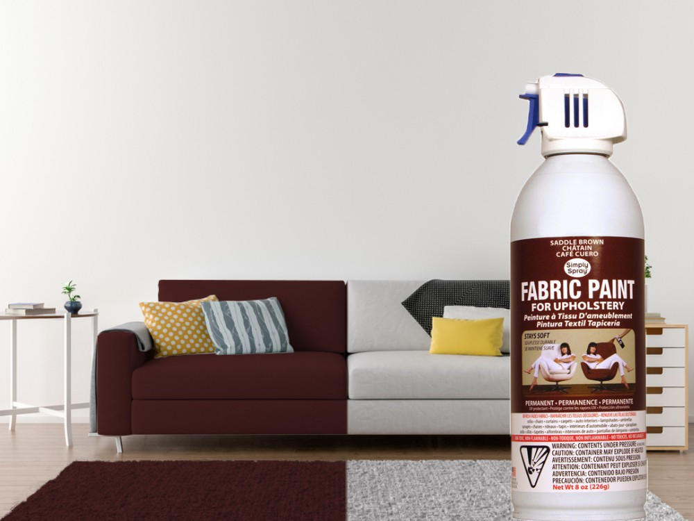Upholstery Spray Saddle Brown (Multipack) – Bild 2