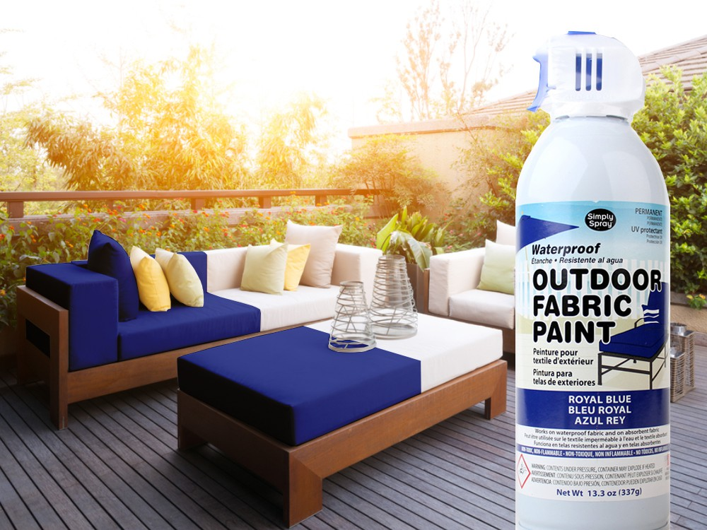 Outdoor Upholstery Spray Blue – Bild 3