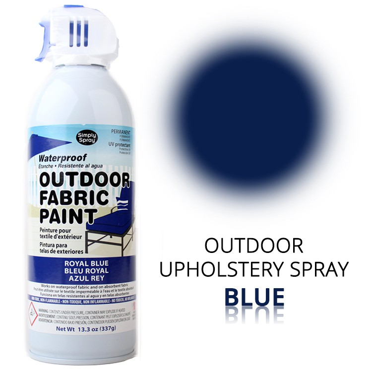 Outdoor Upholstery Spray Blue – Bild 1