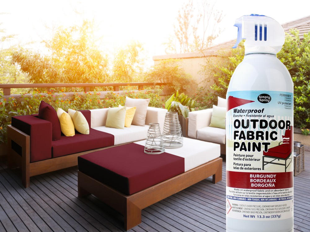 Outdoor Upholstery Spray Burgundy – Bild 3