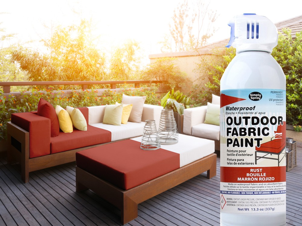 Outdoor Upholstery Spray Rost – Bild 3