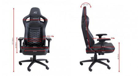 Speedmaster Chair Schwarz - Carbonfaser Optik – Bild 5