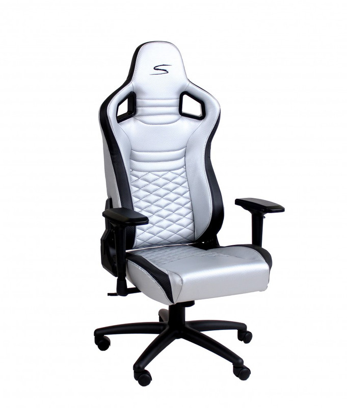 Speedmaster Chair Silber - Carbonfaser Optik