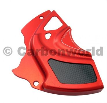 sprocket cover red  CNC Racing for Ducati Diavel