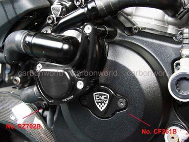 protection pompe e eau noir CNC Racing Ducati Diavel – Image 3