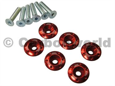 retainer kit red  CNC Racing for Ducati