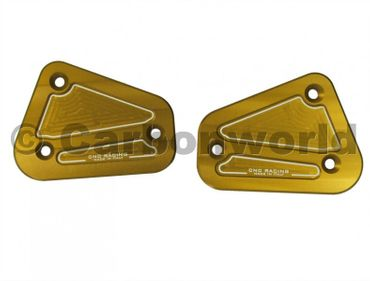 fluid container cover kit gold CNC Racing for Ducati Streetfighter