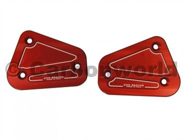 Behälterdeckel Kit rot CNC Racing für Ducati Streetfighter