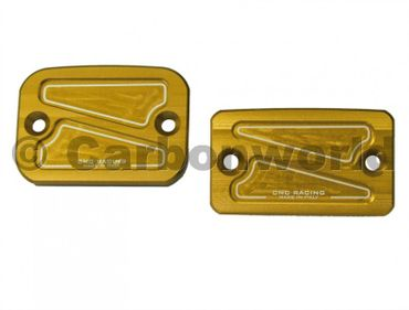 fluid container cover kit gold CNC Racing for Ducati 696, 796, S2R 800