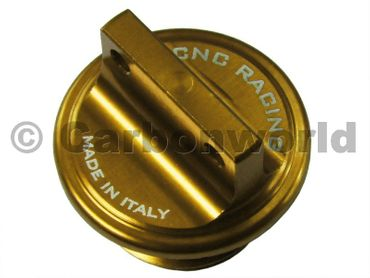 Oilcap gold CNC Racing for Ducati gold – Image 1