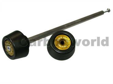 shaft guard rearwheel gold  CNC Racing for Ducati