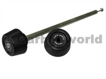shaft guard rearwheel black CNC Racing for Ducati