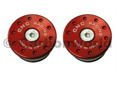 frame cap kit red CNC Racing for Ducati Monster 696-796-1100