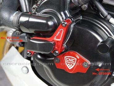 protection pompe e eau rouge CNC Racing pour Ducati – Image 2