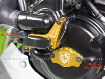 engine cover gold CNC Racing for Ducati – Image 3