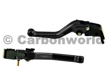 brake and clutch lever 150mm black CNC Racing for Ducati – Image 1