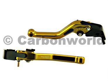 brake and clutch lever 150mm gold CNC Racing for Ducati – Image 1