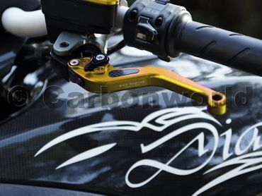 brake and clutch lever 150mm gold CNC Racing for Ducati – Image 4