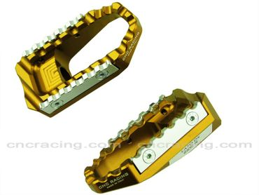 touring pegs kit gold CNC Racing for Ducati Diavel – Image 2