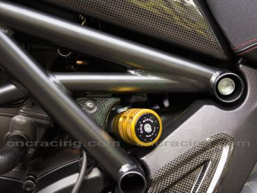 shock absorber pivot gold CNC Racing for Ducati Diavel Multistrada – Image 3