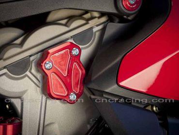 Zylinderdeckel rot CNC Racing für Ducati Panigale – Bild 3