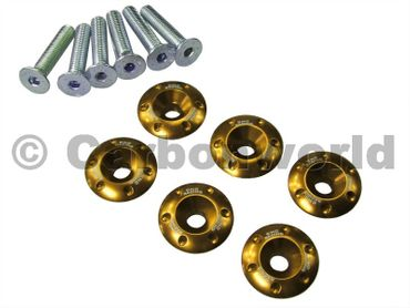 retainer set gold CNC Racing for Ducati