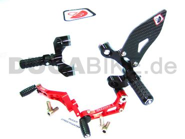adjustable rearsets Ducabike for Ducati Streetfighter – Image 1