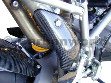 heat guard carbon for Ducati 749 999 – Image 2