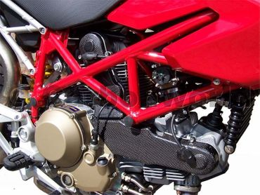 belt cover kit carbon for Ducati – Image 5