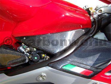 Fianchetti serbatoio carbonio per MV Agusta F4 – Image 2