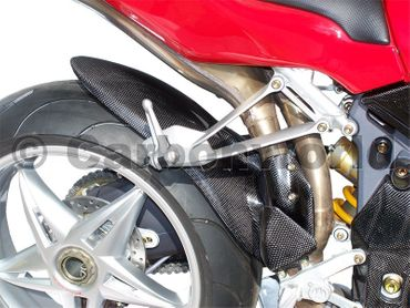 carbon rear fender for MV Agusta – Image 3
