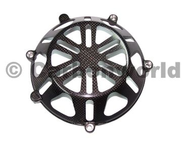 clutch cover special carbon for Ducati – Image 1
