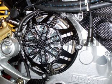 clutch cover special carbon for Ducati – Image 2