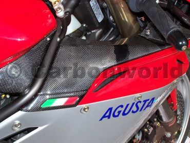 carbon ram air cover for MV Agusta F4 – Image 2
