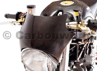 headlight fairing carbon for Ducati Monster – Image 2